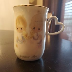 "1978 Precious Moments Coffee Cup ""Forever Mine"""